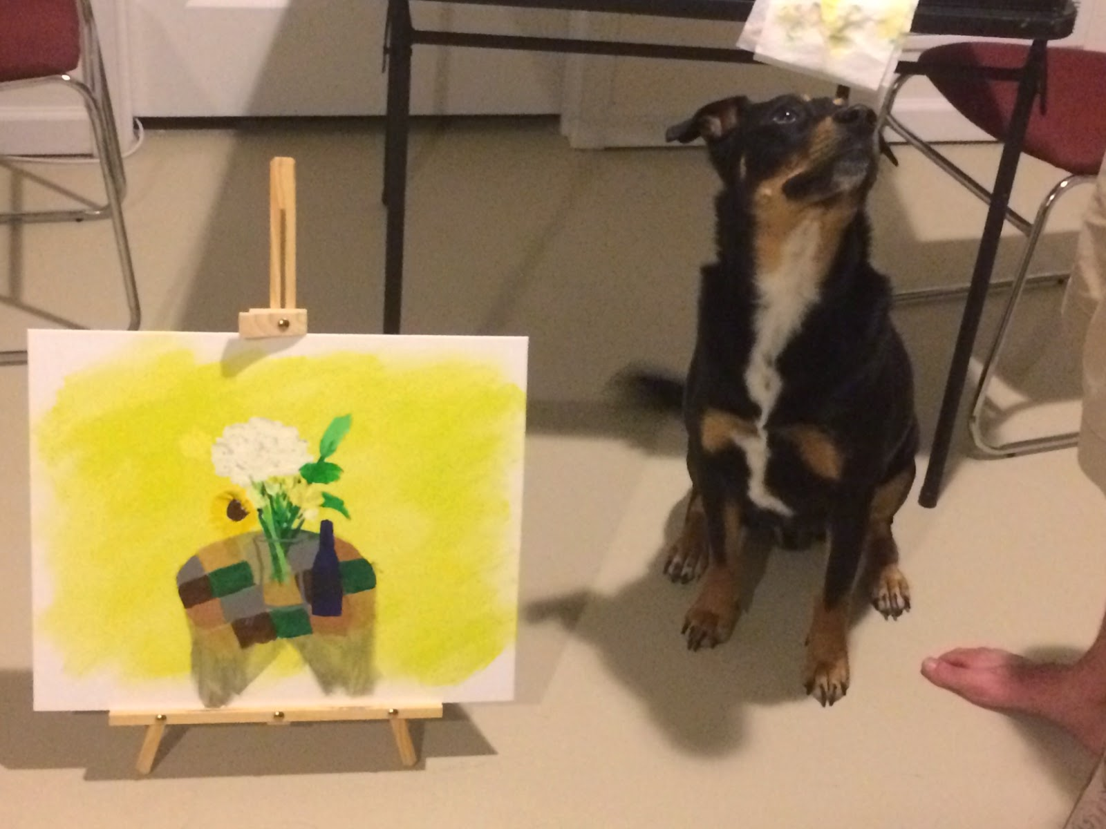 Still life painting and dog | Business, Life & Design