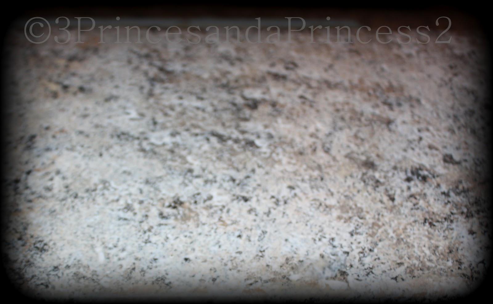 3 princes and a princess 2 giani granite a total for Giani granite