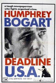 Watch Deadline - U.S.A. Online Free 1952 Putlocker