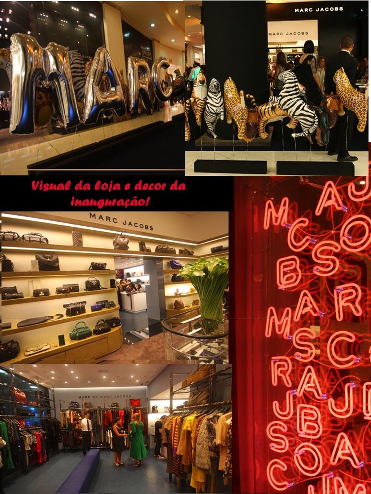 Como ja tinha falado para voces, na terca inaugurou a loja do Marc Jacobs  no Iguatemi, entao hoje estou aqui para mostrar para voces como foi. 500441fe95
