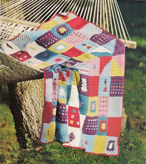 Manta tricot aprender manualidades es - Mantas de ganchillo faciles ...