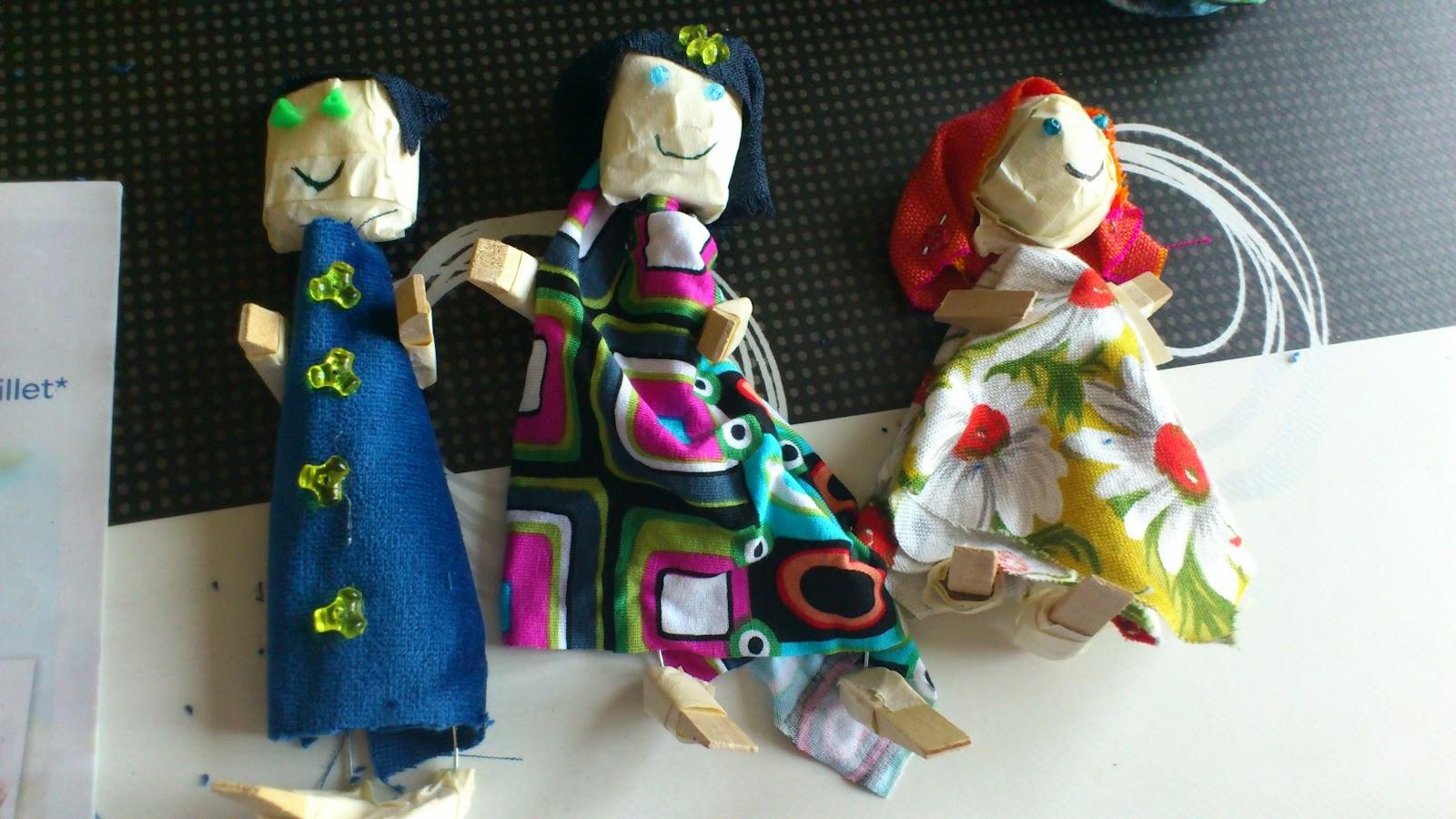 Divagations comment fabriquer des marionnettes en r cup 39 - Fabriquer une marionnette articulee ...
