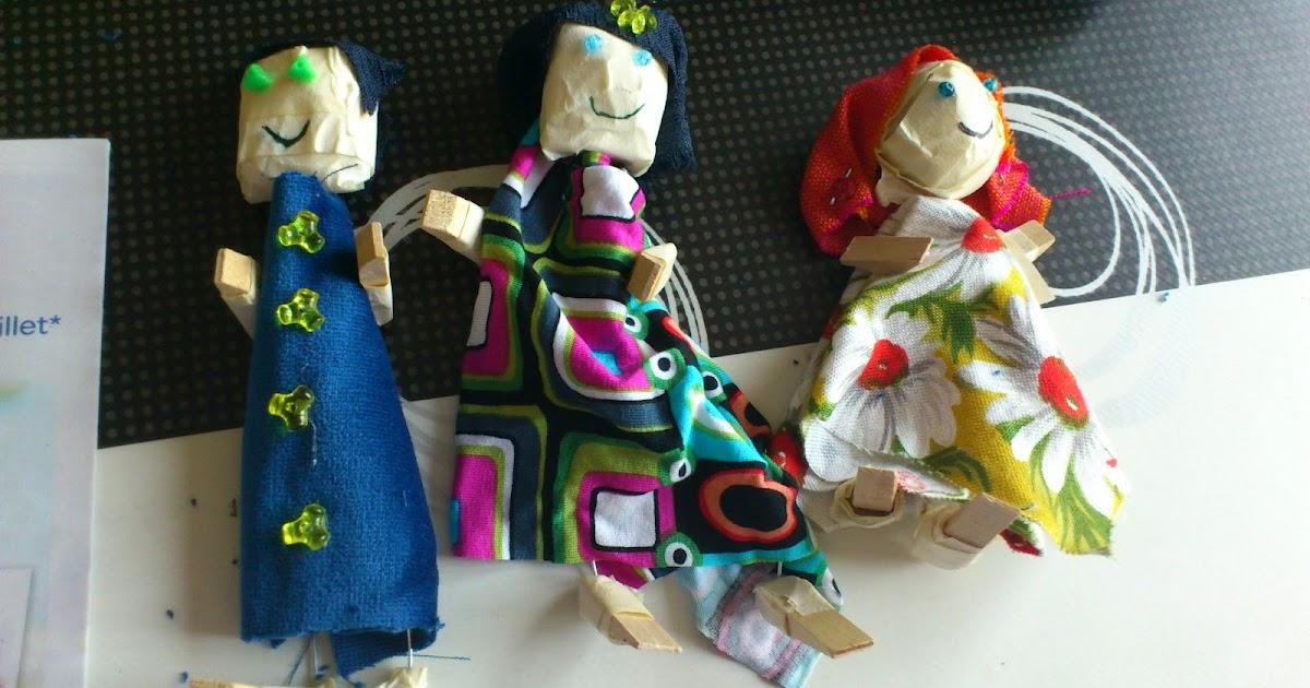 Divagations comment fabriquer des marionnettes en r cup 39 - Comment faire une marionnette ...