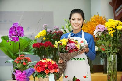 Hoa Yêu Thương trao yêu thương