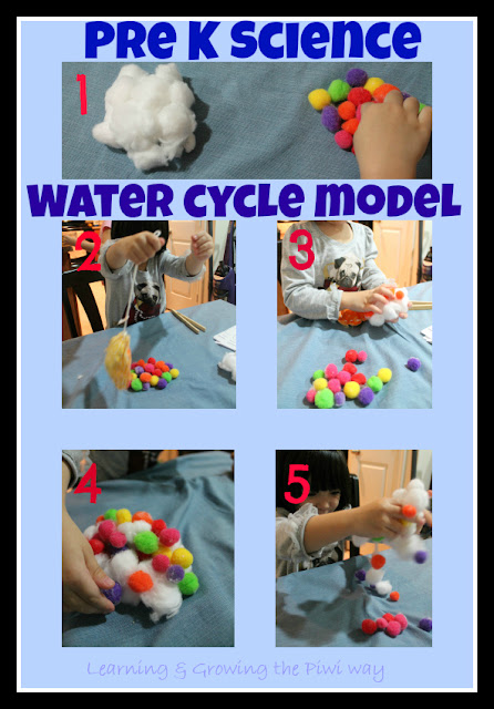 Preschool puddleseasy to make water cycle model piwi kids ccuart Image collections