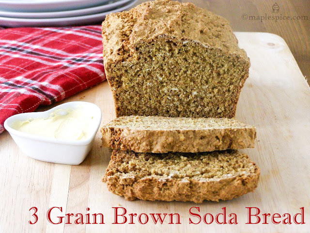 Vegan Brown Soda Bread