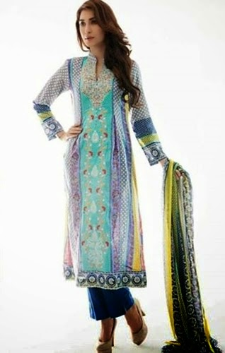 Midsummer Imperial Lawn Collection Amna Ismail