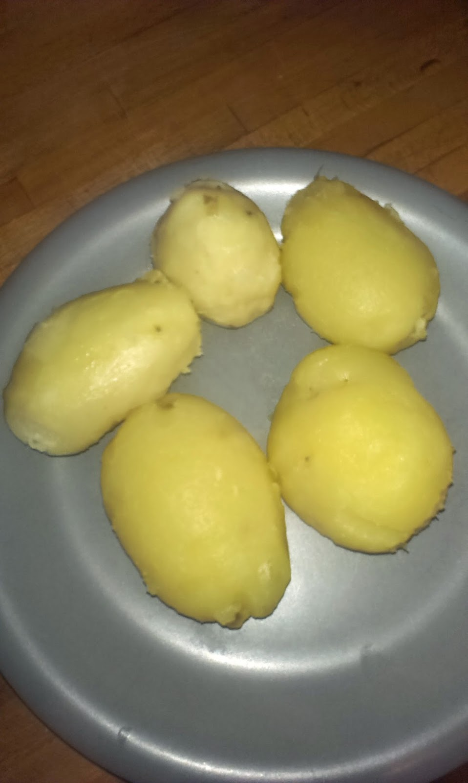 La cocina del kalvo escabeche de patatas y pescado - Cuanto tarda en cocer una patata ...
