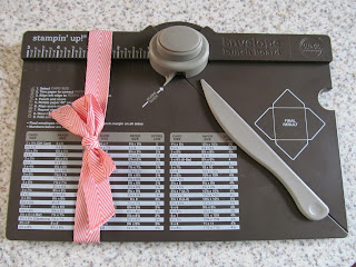 Envelope Punch Board Craft Accessory
