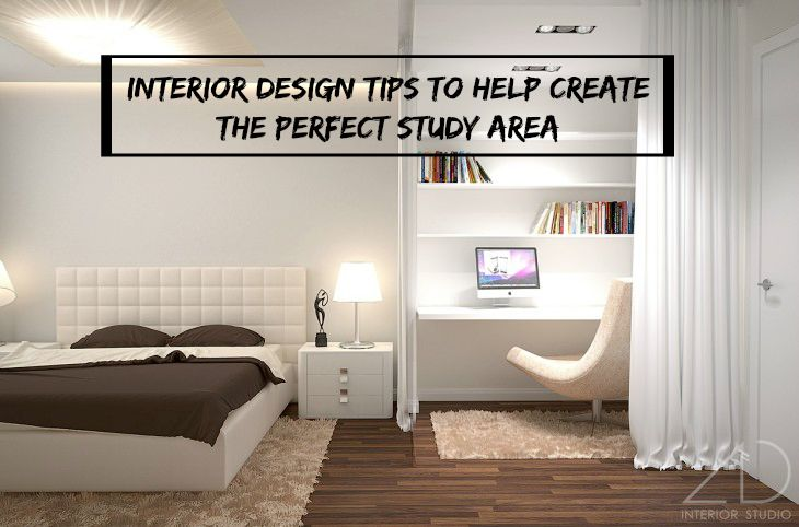 Interior design tips to help create the perfect study area for Interior design help