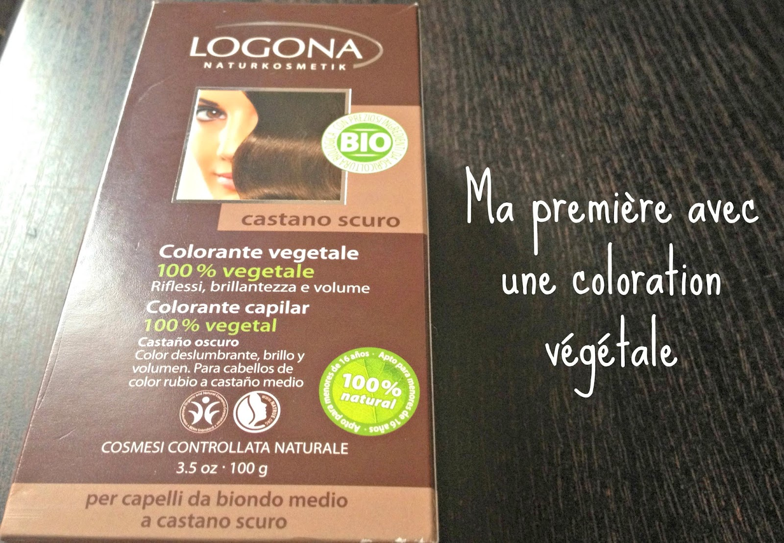 logona chataigne - Coloration Logona