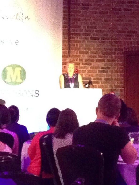madmumof7 keynote speaker at #BritmumsLive 2014