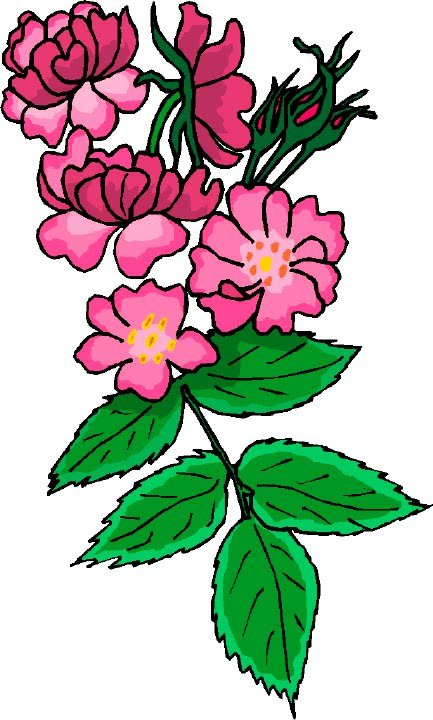 Artbyjean easter clip art flowers for your cards