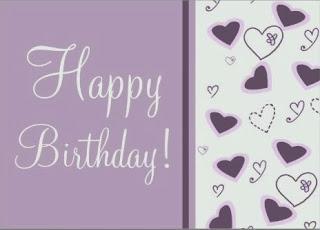 Tarjetas de Cumpleaños para Novios, parte 2