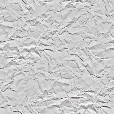 Seamless white crease paper texture