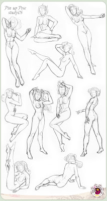 How to draw Pin Up – Poses