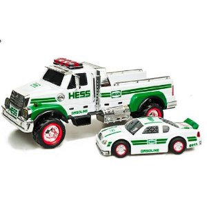 My Springfield Mommy: Hess Toy Truck and Race Car Set