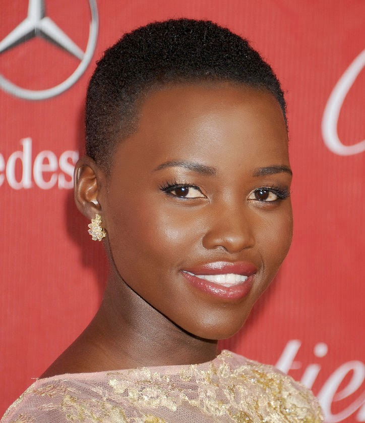 Lupita Nyong'o For Lancome and Her 10 Makeup Looks SSU Adores