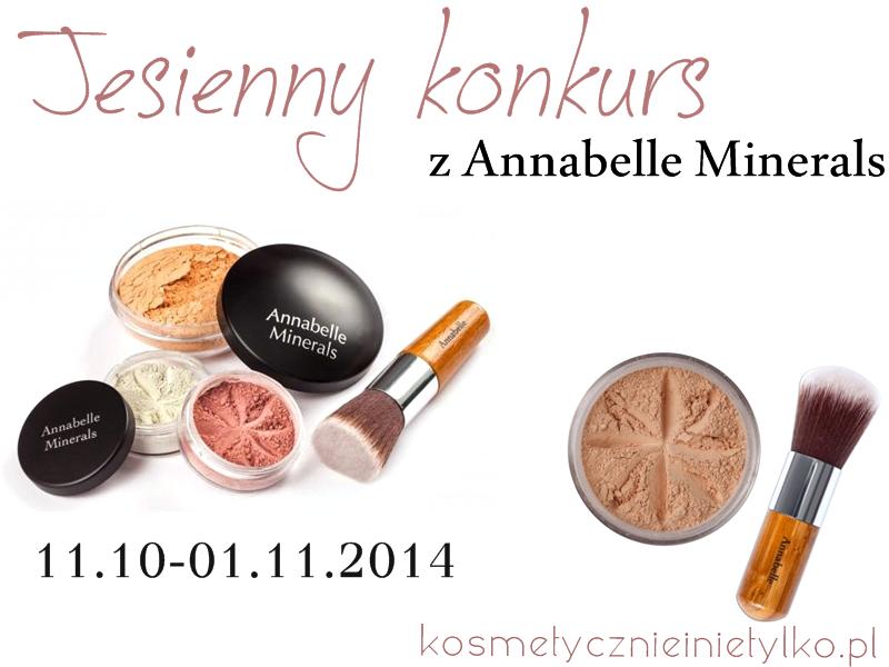 Zapraszam na konkurs- do wygrania dwa zestawy kosmetyków Annabelle Minerals