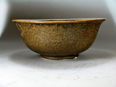 Tea dust glaze Yongzheng Bowl north shore