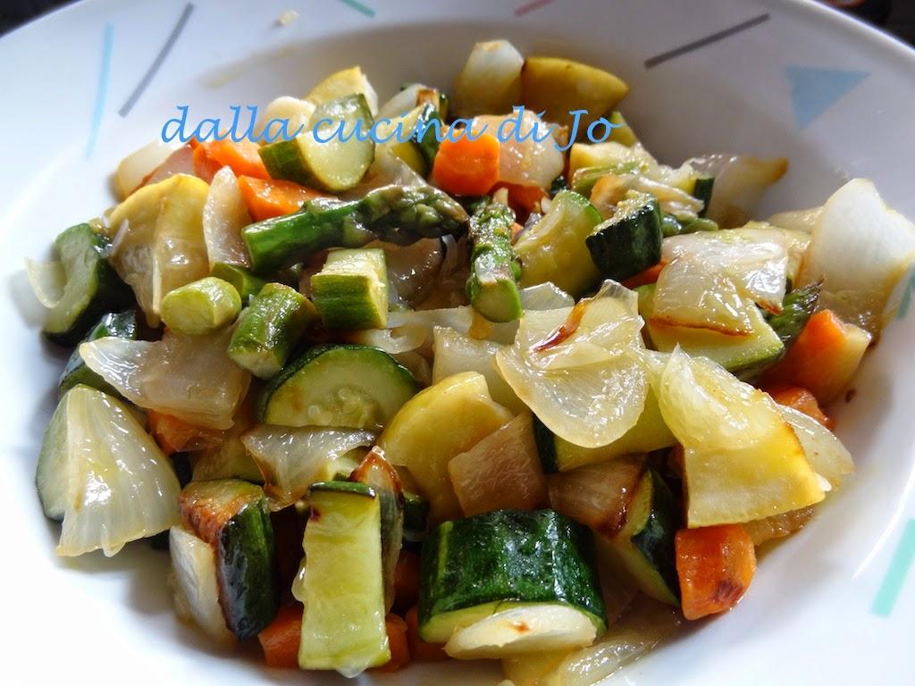 misto di verdure brasate