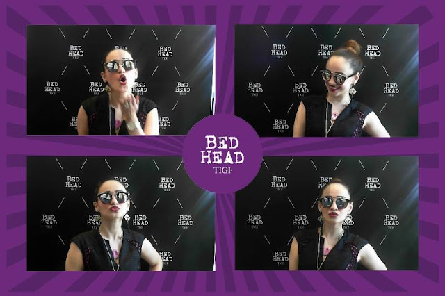 BedHead by TIGI India GIF Booth at Lakme Fashion Week Winter Festive'15, Stephanie Timmins