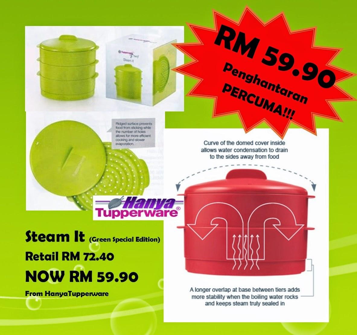 Tupperware Cuma RM 59 90