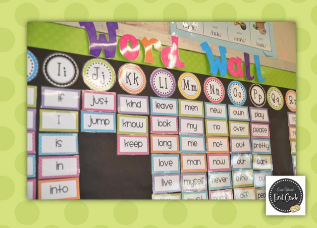 Classroom Decoration Word Work ~ Kindertrips classroom decor