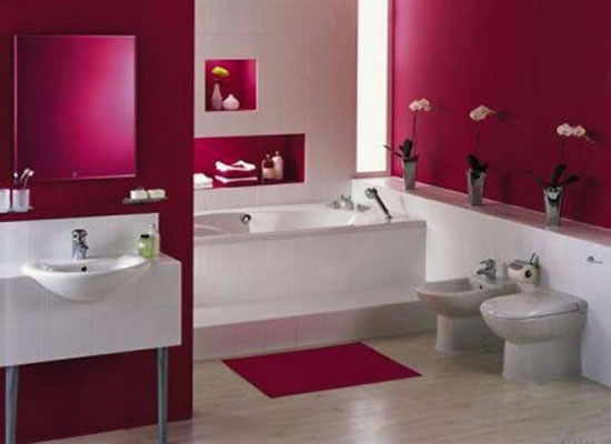 New home designs latest modern homes small bathrooms ideas for Small modern bathroom ideas