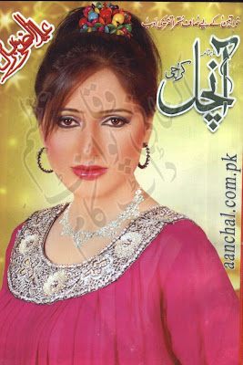 Aanchal Digest November 2012,Aanchal, Urdu Digest, November, 2012,