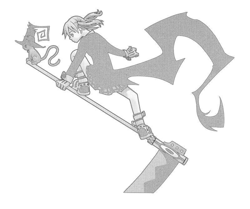 soul-eater-maka-albarn-character-coloring-pages