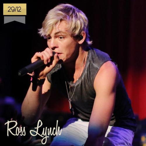 29 de diciembre | Ross Lynch - @rossR5 | Info + vídeos