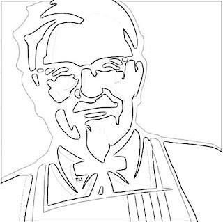 KFC Logo Sketch