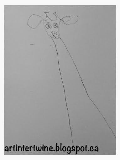Art Intertwine - Giraffe Drawings