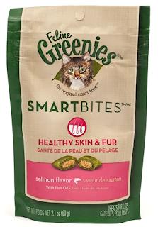 smartbites greenies treats for cats