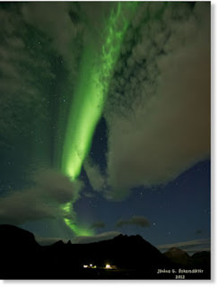 AURORAS: Faskrudsfjordur en Islanda 06 de Septiembre 2012