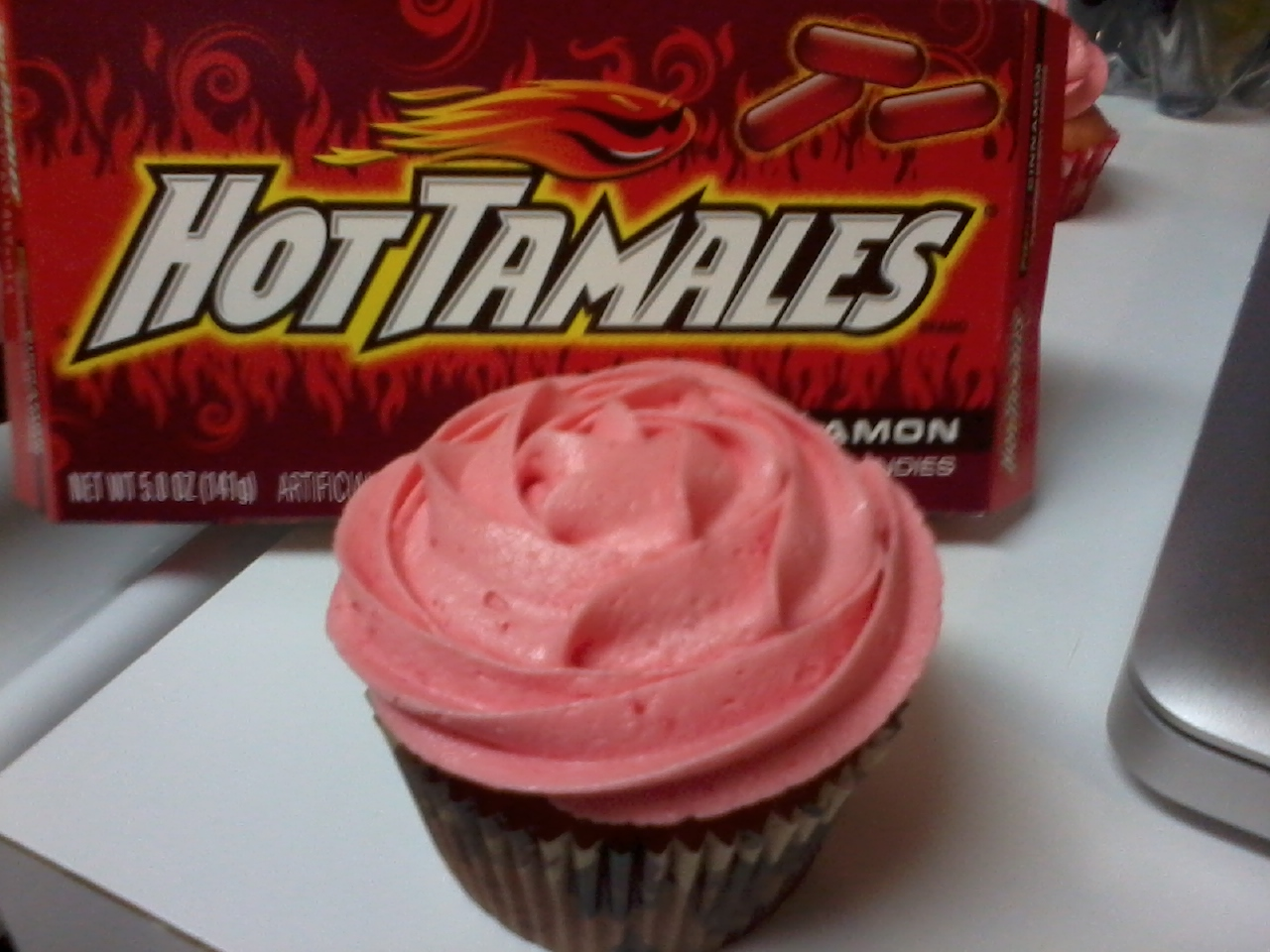 Here it is!!! My HOT Tamale Cupcake!! This is what I think I'll be ...