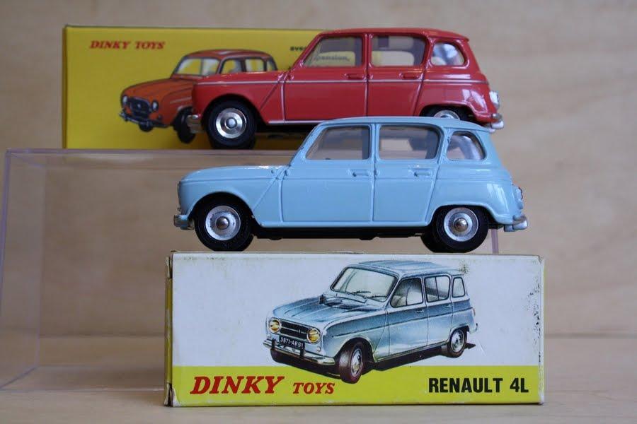 garage de poche les comparaisons de thierry  renault 4 1961