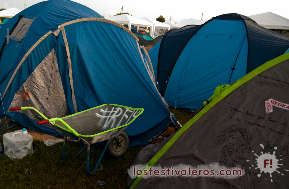 Roskilde Festival 2014, Camping, Soundsystem