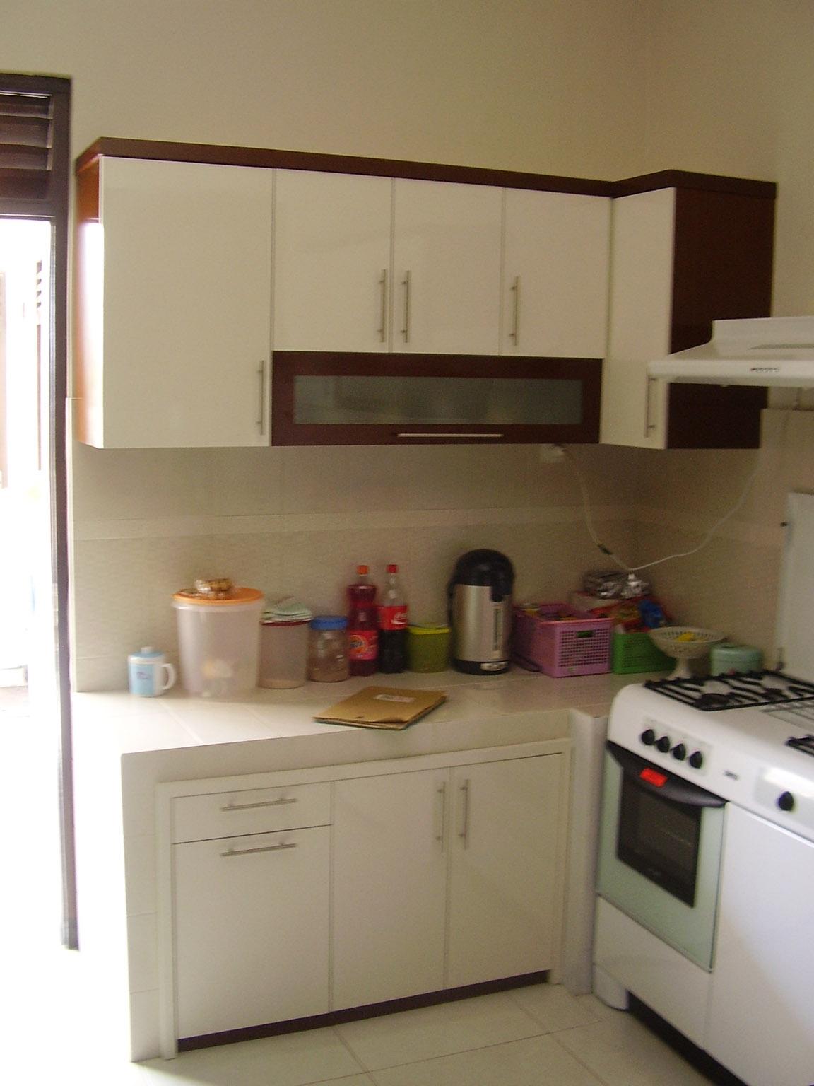Kitchen set l shape kitchen set semarang