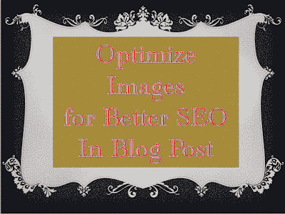Optimize Images in Blog Post