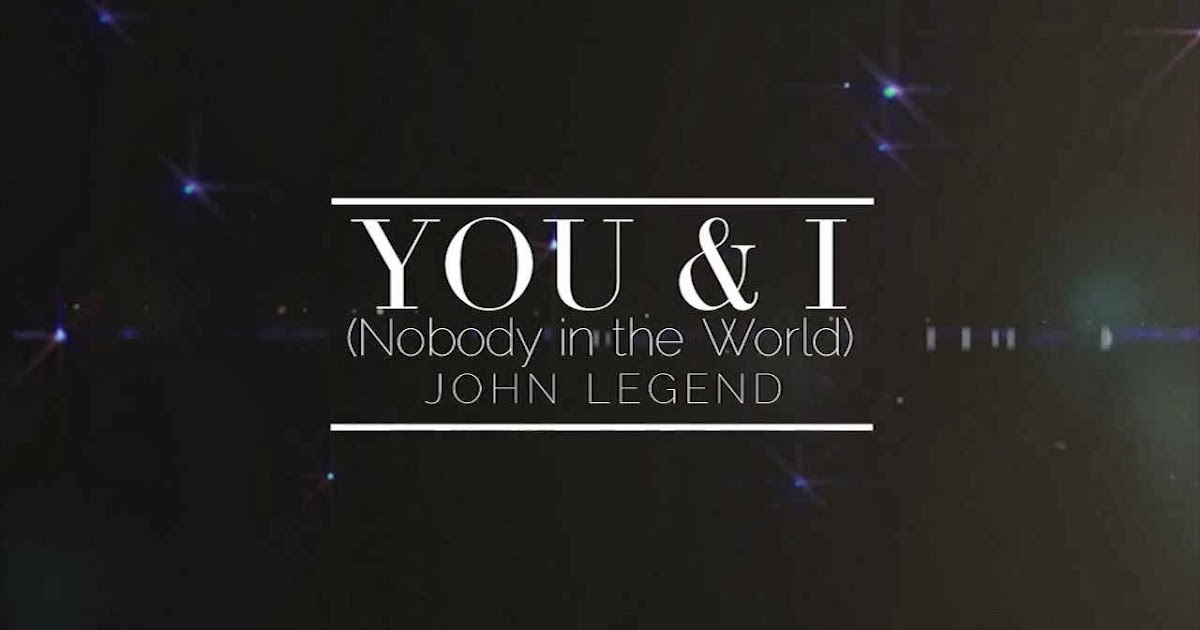 John legend you i