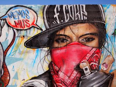 Arte callejero en Caldera