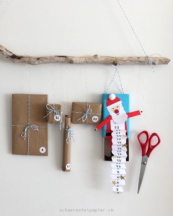 schaeresteipapier einen witzigen nikolaus adventskalender basteln. Black Bedroom Furniture Sets. Home Design Ideas