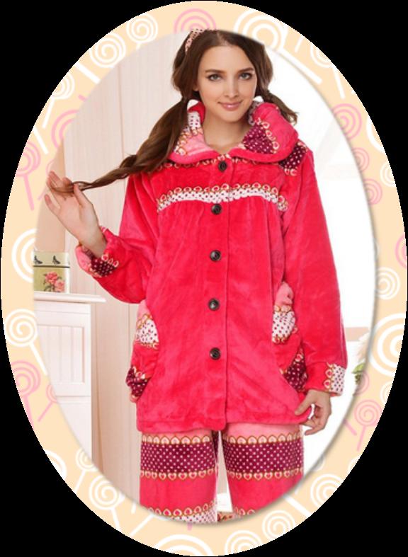 pijama-mujer-franela