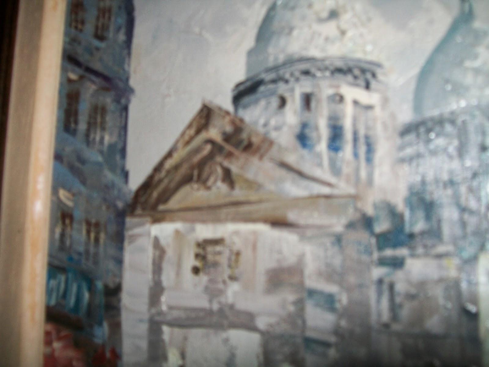 Calogilou le champi tableaux peintures hst montmartre - Peintre burnett estimation ...