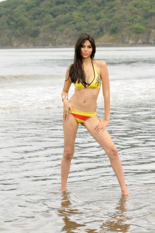 Silvana Sanchez in swimsuit
