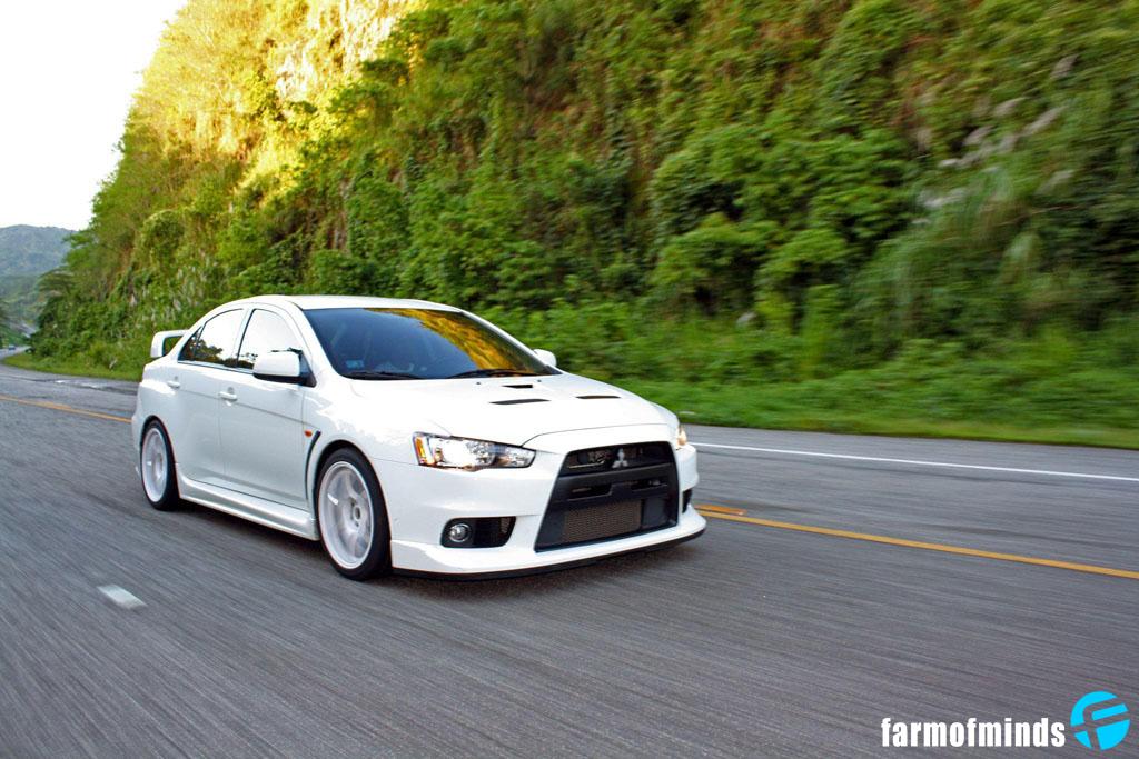 Reader\'s car: Arnaldo\'s Wicked White Evo X - Farmofminds