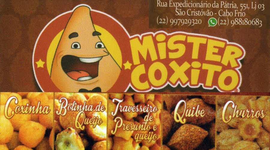 Mr. Coxito - Salgados no Copo