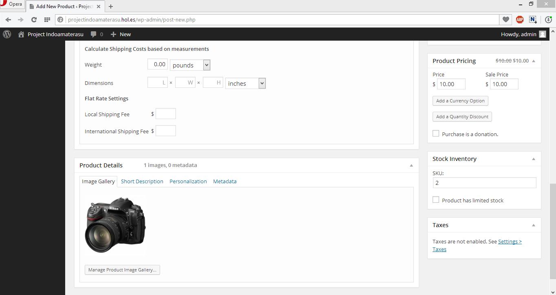 Panduan Menggunakan Pugin Wp eCommerce Unruk Membuat Toko Online di Wordpres 8